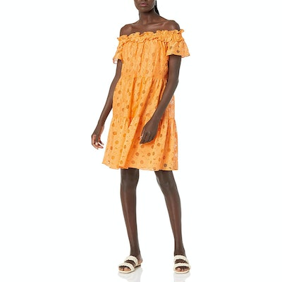 Trina Turk Margery Off The Shoulder Lace Dress
