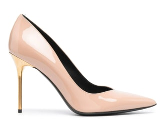 Ruby Patent Leather Pumps