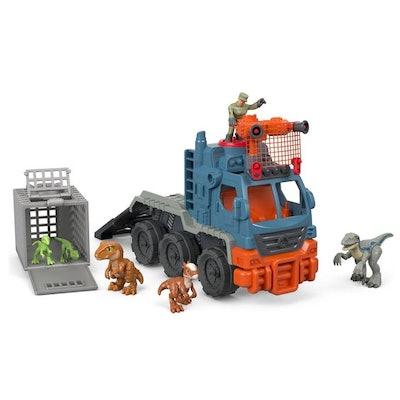 Imaginext Jurassic World Dinosaur Hauler Vehicle Gift Set