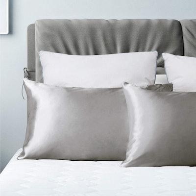 Bedsure Satin Pillowcase for Hair and Skin (2-Piece)
