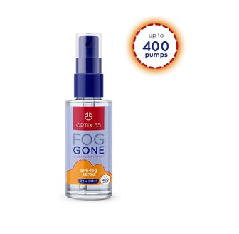 Optix 55 Anti-Fog Spray for Non - Anti Reflective Lenses