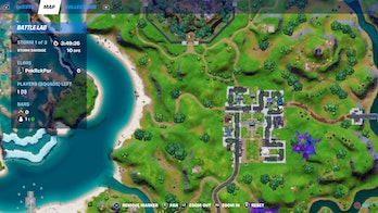 fortnite welcome sign location 4 map