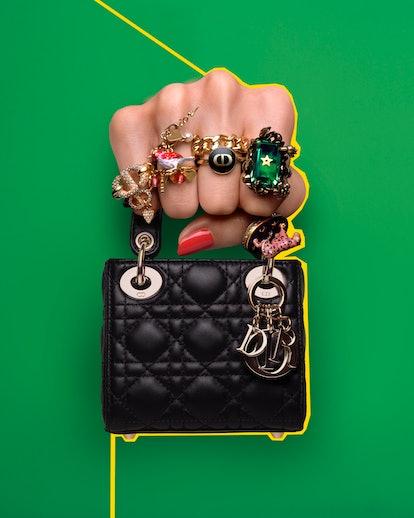 Dior's Micro Lady Dior Bag.