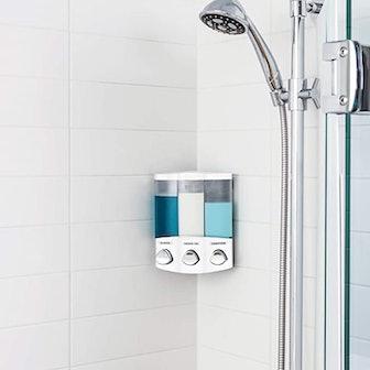 Better Living 3-Chamber Soap and Shower Dispenser