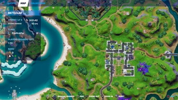 fortnite welcome sign location 3 map