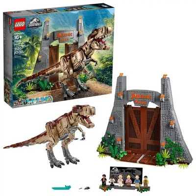 LEGO Jurassic World Jurassic Park: T. rex Rampage Building Kit 75936