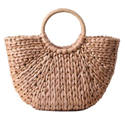 EROUGE Handwoven Straw Bag