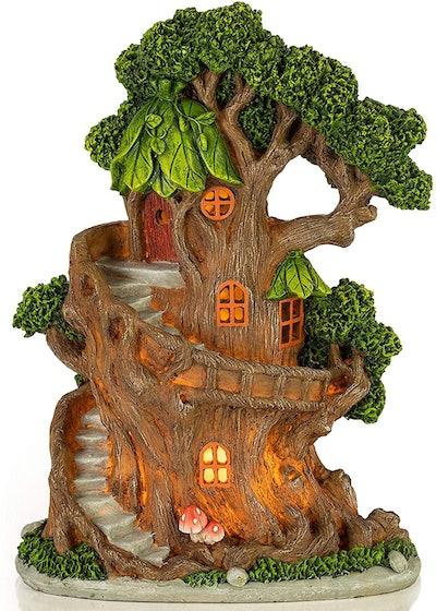 VP Home Solar Powered Enchanted Treehouse