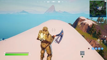 fortnite alien light location 1 gameplay