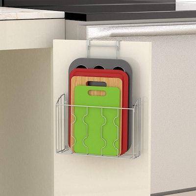 SimpleHouseware Cabinet Door Organizers (2-Pack)