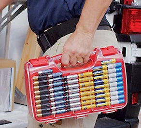 Ontel Battery Daddy Battery Organizer and Storage Case with Tester