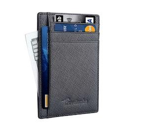 Travelambo Leather Slim RFID Blocking Wallet