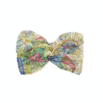 Etro Paisley-Print Cashmere-Blend Headband