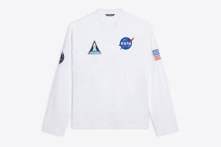 Balenciaga NASA Space Longsleeve
