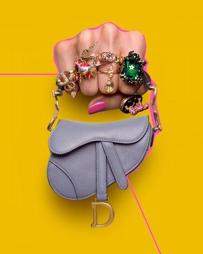 Dior's Micro Saddle Bag.