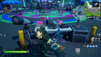 fortnite boombox location 2 gameplay