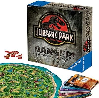 Ravensburger Jurassic Park Danger! Adventure Strategy Game for Kids & Adults