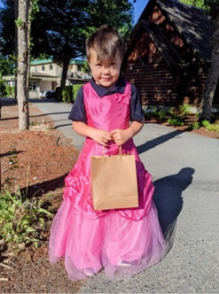 Jared's son Finn loves to wear dresses and he has his dad's support.