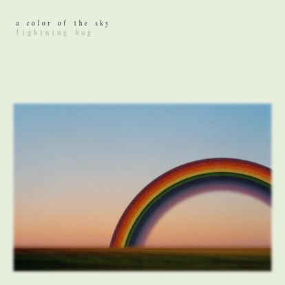 The album cover for Lightning Bug's 'A Color of the Sky.'