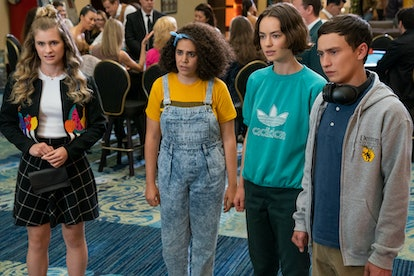 Jenna Boyd, Kimia Behpoornia, Brigette Lundy-Paine, & Keir Gilchrist of Atypical