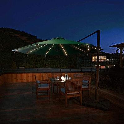 Suplit Solar Cordless Patio Umbrella Lights