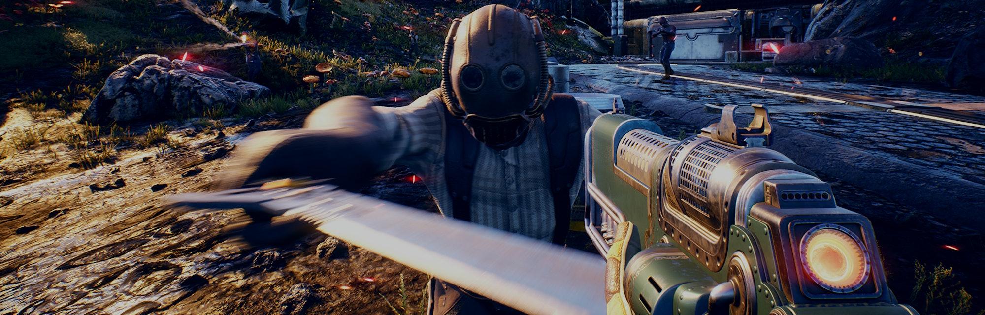 Screenshot from Outer Worlds