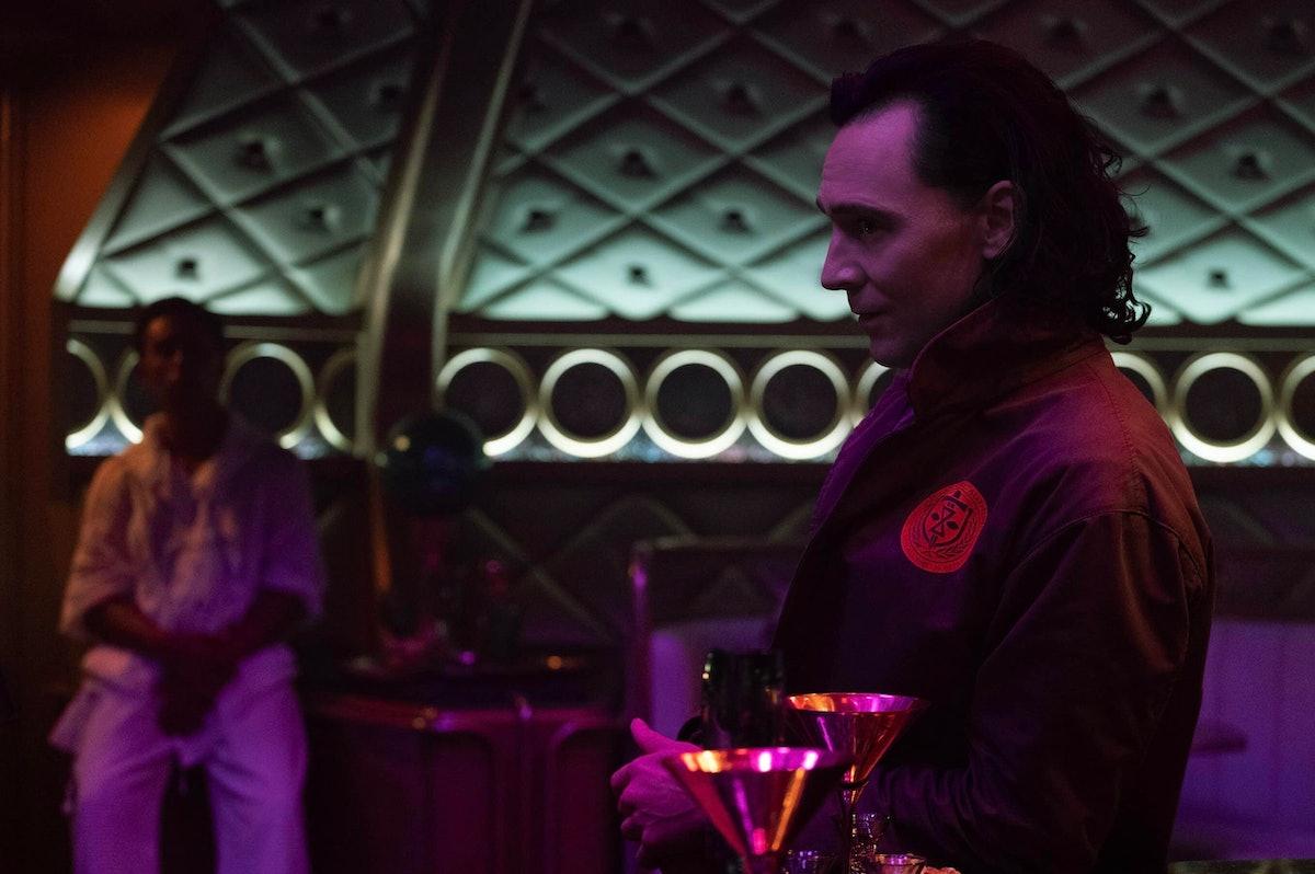 Tom Hiddleston as Loki singing 'Jeg Saler Min Ganger' in 'Loki' Episode 3