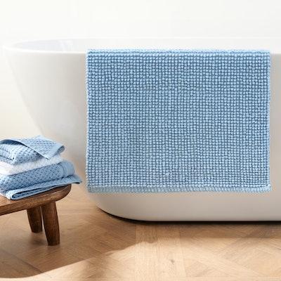 Popcorn Non-Slip Cotton Bath Rug