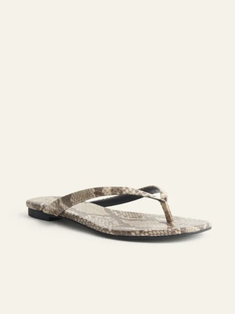 Blossom Thong Flat Sandal