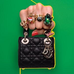 Dior's Lady Dior Microbag