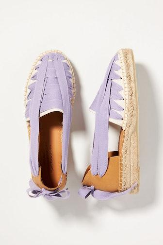Ribbon Espadrille Sandals