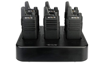 BAOFENG UV-5R Two Way Radio Dual Band (6-Pack)