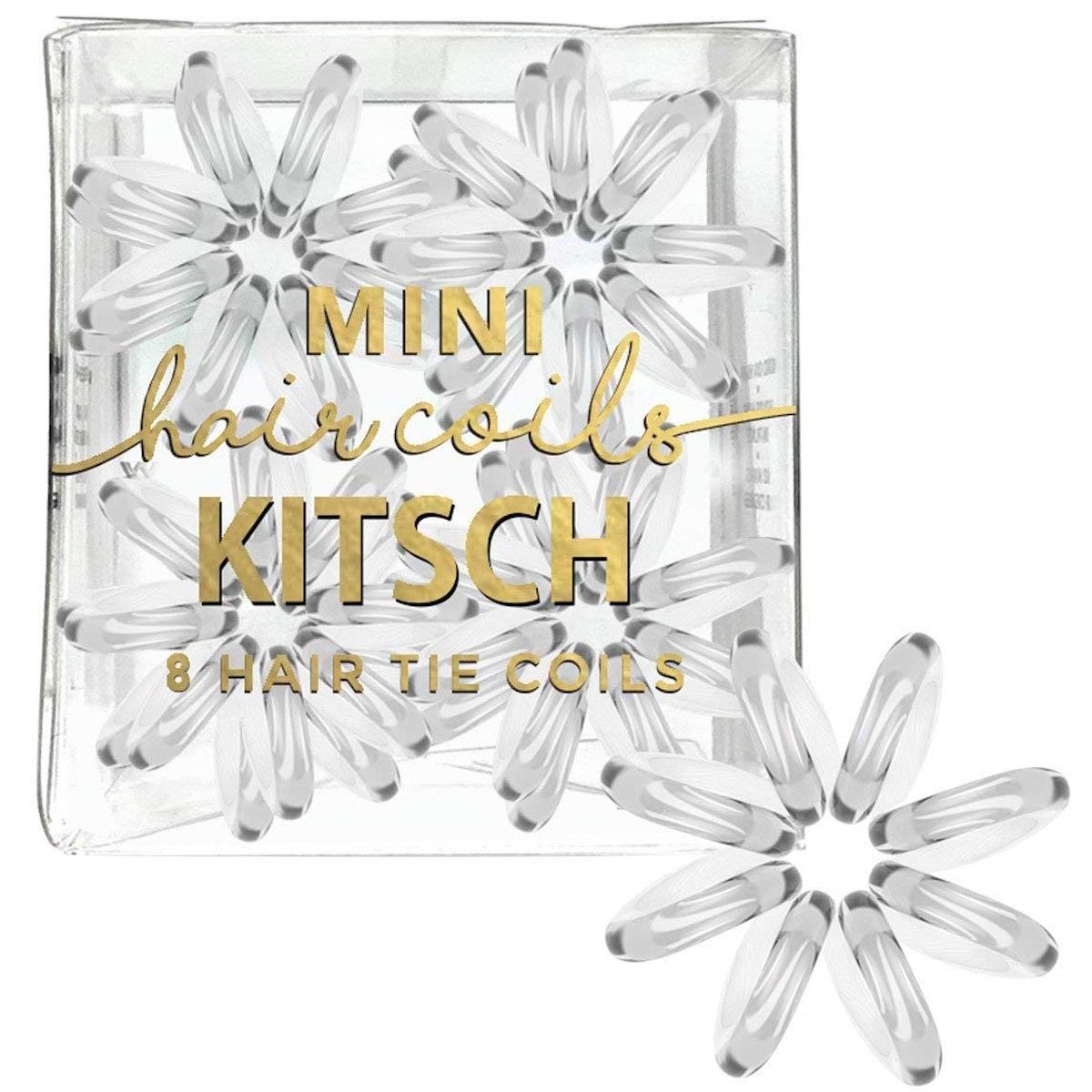 Kitsch Mini Spiral Hair Ties (8-Pack)