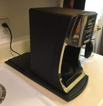 Kitchen Caddy Sliding Coffee Maker Tray