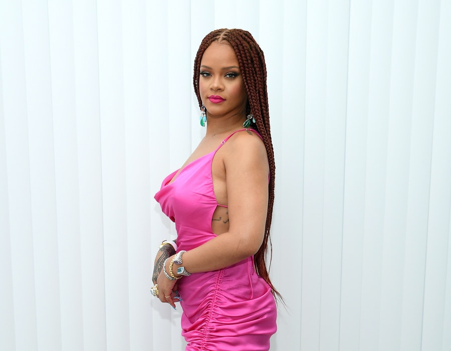 Rihanna attends the FENTY x Webster Pop-up Cocktail at The Webster on June 18, 2019 in New York City.
