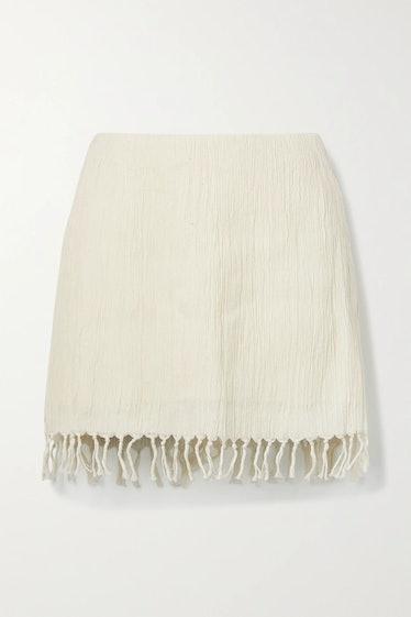 Rena Fringed Skirt