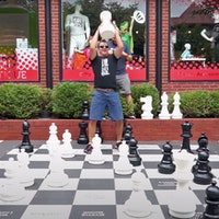 Giant bullet chess: The best way to break a sweat and flex your mind