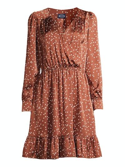Mini Dress with Ruffle Hem
