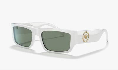Versace White Sunglasses