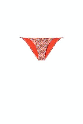 Printed Triangle Bikini Bottom