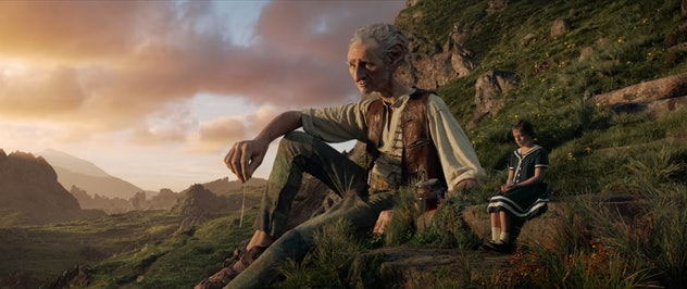 The BFG is based on the Roald Dahl book of the same name.