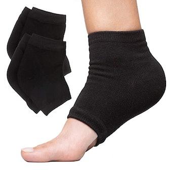 ZenToes Moisturizing Heel Socks (2-Pairs)