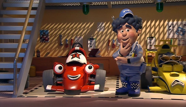 Roary the Racecar originally aired in the UK