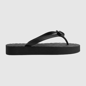 Women's Chevron Thong Sandal