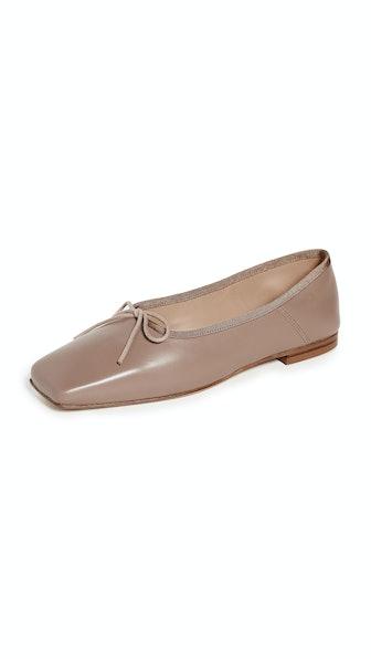 Square Ballerina Flats
