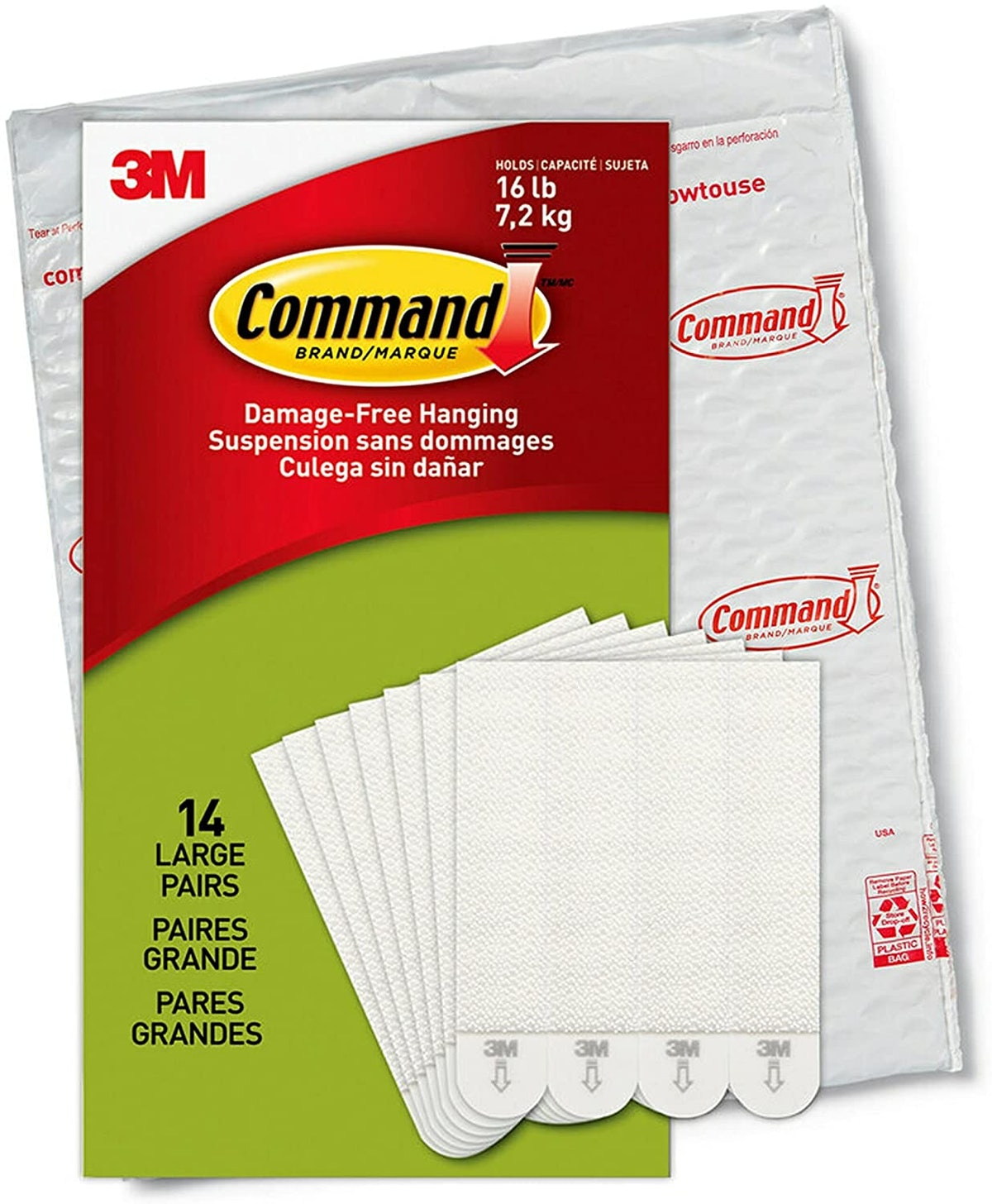 Command Large Picture Hanging Strips