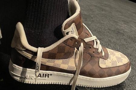 Louis Vuitton Nike Air Force 1