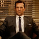 Mad Men's Don Draper, often depicted as a stereotype of masculine norms