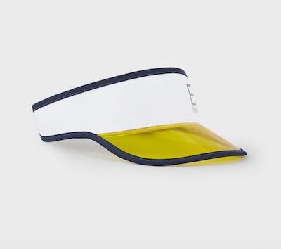 Visor with plexiglass insert