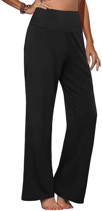 Arolina Wide Leg Palazzo Lounge Pants